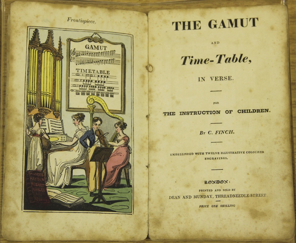 the gamut and time-table book