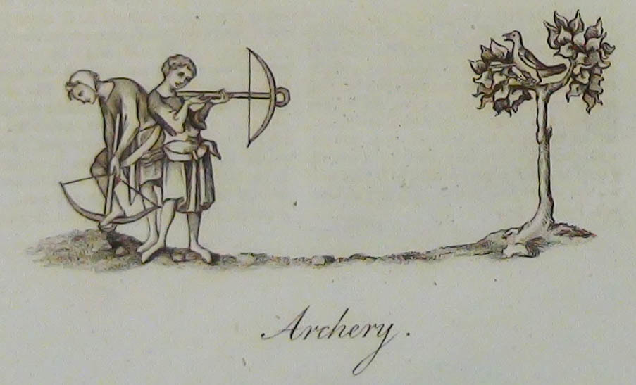 Two medieval archers