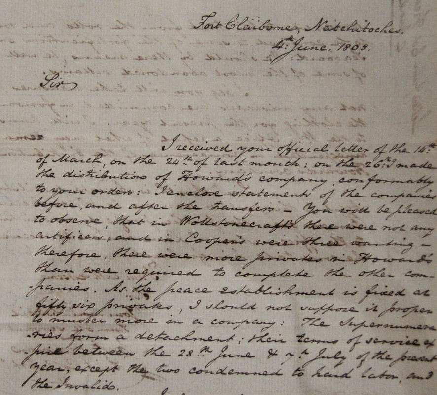 1808 letter from William Freeman to Henry Burbeck